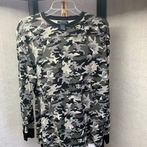 Other - M19- 17. Polo Camo Thermal Waffle Weave